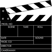 Clapperboard In Png PNG images
