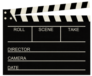 High Resolution Clapperboard Png Icon PNG images