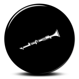 Vector Clarinet Icon PNG images