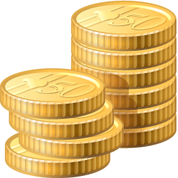 Coins Icon Finance PNG images