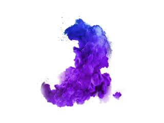 Hd Blue Color Smoke Png PNG images