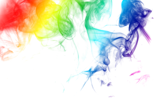 Rainbow Colored Smoke Png PNG images