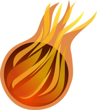Fireball Comet Symbol PNG Image PNG images