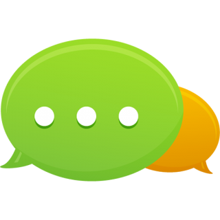 Bubble Communication Icon PNG images