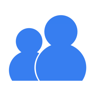 Communication Wlm Blue Icon PNG images