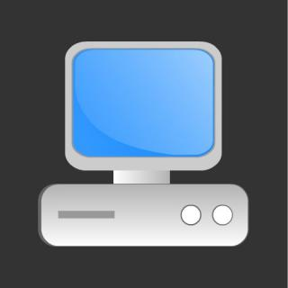 Desktop Or Computer Icon Free Only On Vector Icons Download PNG images