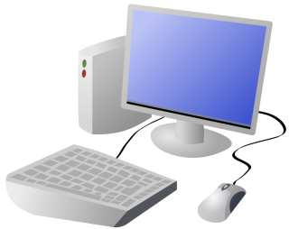 Cartoon Computer And Desktop Png PNG images