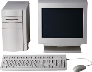 Old Computer PC PNG PNG images
