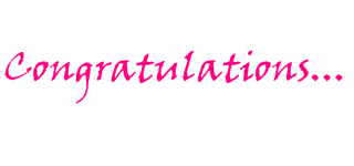 Best Free Congratulations Png Image PNG images