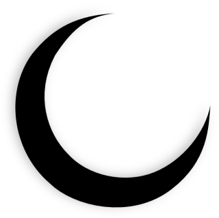 Crescent Moon PNG Pic PNG images
