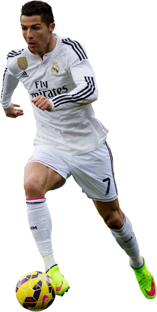 Cristiano Ronaldo With Soccer Ball PNG images