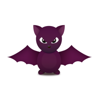 Cute Bat Icon Png PNG images