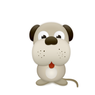 Cute Dog Icon Png PNG images