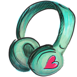 Cute Headphone Icon Png PNG images