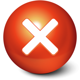 Cute Red Stop Ball Icon Png PNG images