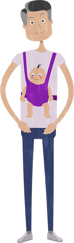DAD AND BABY Png PNG images