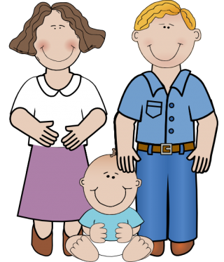 Mom Dad And Baby Clip Art Png PNG images