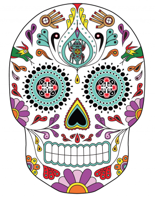 Download Free High-quality Day Of Dead Png Transparent Images PNG images