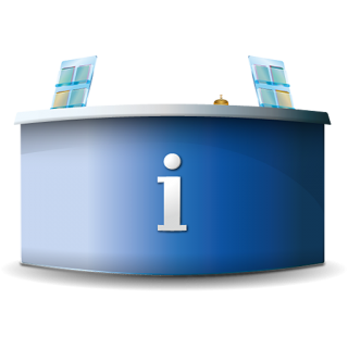 Info Desk Icon PNG images