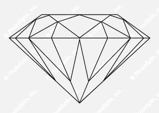 Images Diamond Outline Free Download Png PNG images