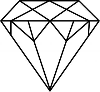 Browse And Download Diamond Outline Png Pictures PNG images