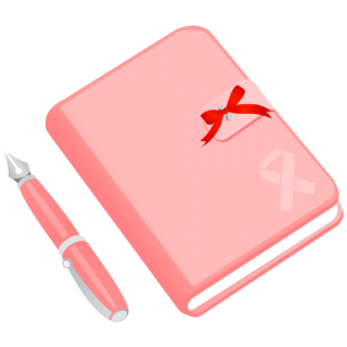 Pink Diary Icon Notebook, Pencil, Journal PNG images