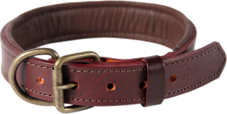 Brown Leather Dog Collar Picture PNG images