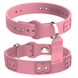 Custom Made Dog Collar Pink Background Images PNG images