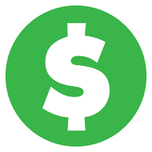 Dollar Round Icon PNG images