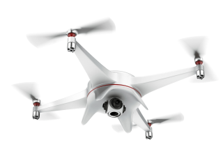 Drone 4 Propeller White Png PNG images