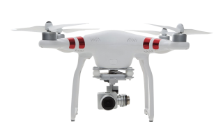 Drone With Camera White PNG Image PNG images
