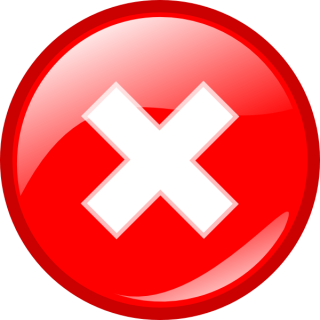 Red Error Round Icon PNG images