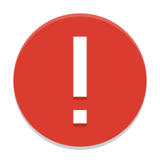 High Resolution Photo Of The Red Exclamation Point Error Png Transparent Background Free Download 48265 Freeiconspng