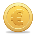 Euro Coin Icon PNG images