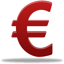 Drawing Euro Icon PNG images