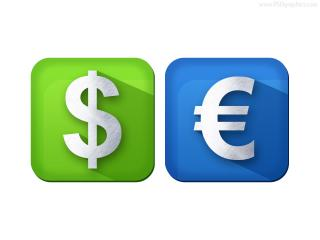 For Euro Windows Icons PNG images