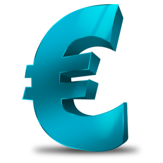 Transparent Euro Icon PNG images