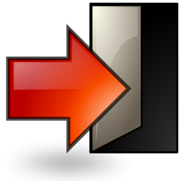 Exit Icon Transparent Exit Png Images Vector Freeiconspng