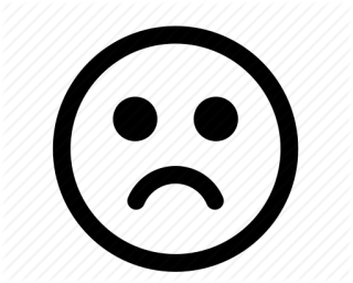 Smiley Sad Face Icon PNG images