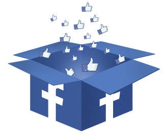 Facebook Box Like Transparent PNG images