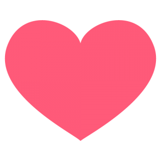 Facebook Blank Heart Png PNG images
