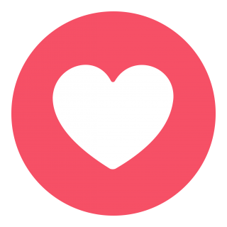Facebook Circle Heart Love Png PNG images