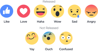 Facebook Reactions Png Images PNG images