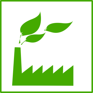 Eco Green Factory Icon PNG images