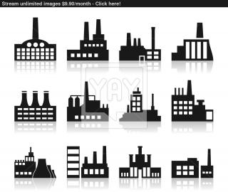 Factory Icon Vector | YayImagesm PNG images