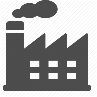 Factory, Industry, Plant, Power Plant, Real Estate, Smoke Icon | Icon PNG images
