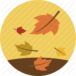 Autumn, Fall, Leaves, Weather Icon PNG images