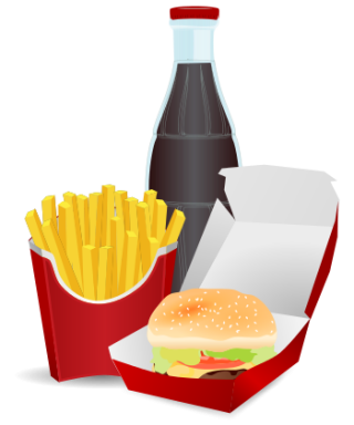 Fast Food Meal /food/meals/fast Food/hamburger Fast Food Meal Png PNG images