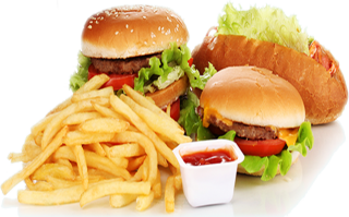 Fast Food Banner Png PNG images