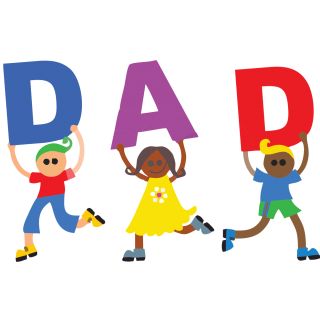 Use These Fathers Day Vector Clipart PNG images